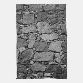 Basalt wall tea towel