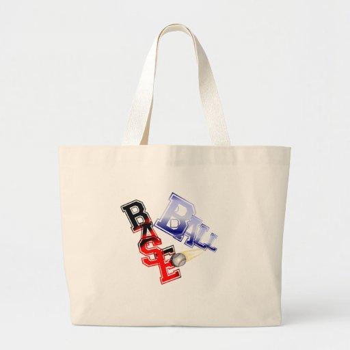 Base Ball Canvas Bag
