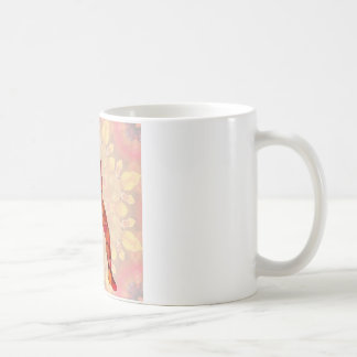 base ball basic white mug