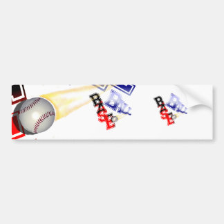 Base Ball Bumper Stickers