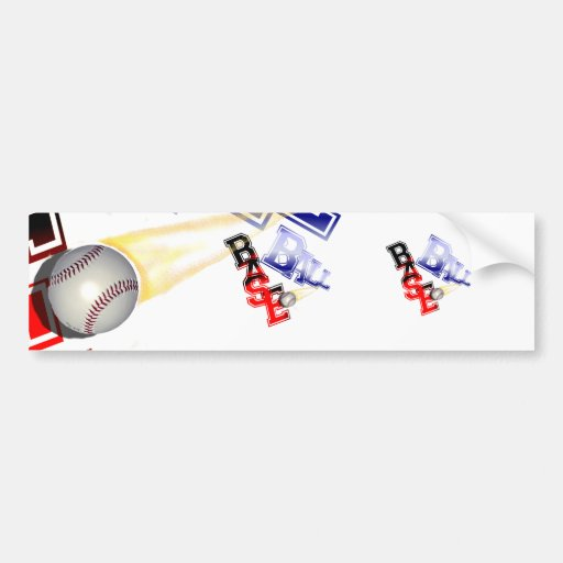Base Ball Bumper Stickers