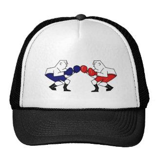 Base ball cap Boxing design Trucker Hat