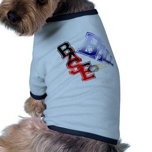 Base Ball Dog Clothing