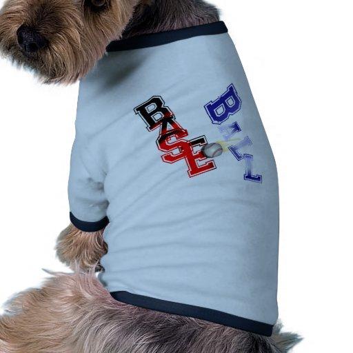 Base Ball Pet Shirt