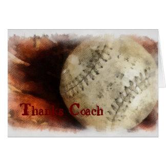 Base Ball Grunge Card