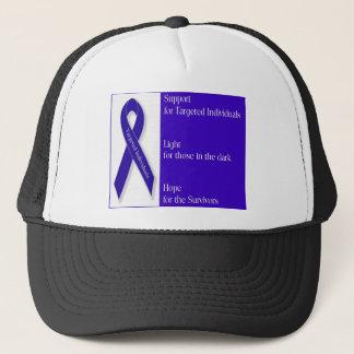 Base ball hat with Indigo Ribbon Logo