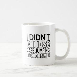 BASE JUMPING. DESIGNS BASIC WHITE MUG