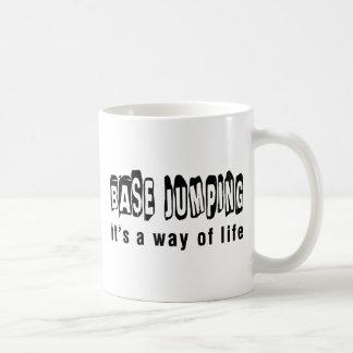 Base Jumping It's a way of life Coffee Mug