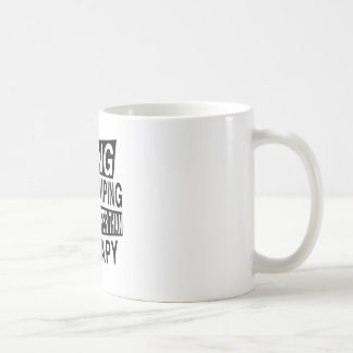 BASE JUMPING Its Cheaper Than Therapy Basic White Mug