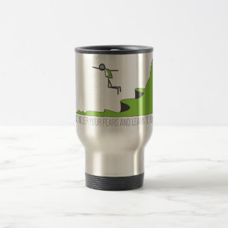 BASE Jumping Learn to Fly Stainless Steel Travel Mug