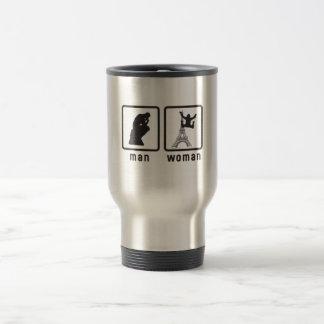 Base Jumping Stainless Steel Travel Mug