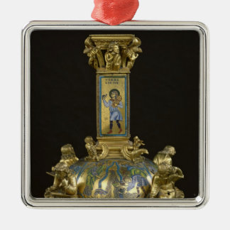 Base of the Cross of St. Bertin Christmas Ornament