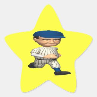 Base Runner Star Sticker