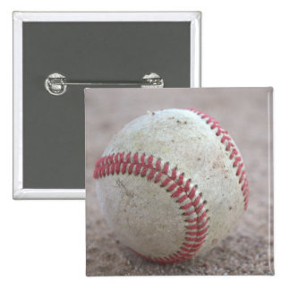 Baseball 15 Cm Square Badge