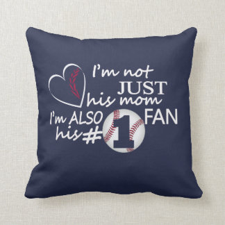 Baseball #1 Mom Cushion