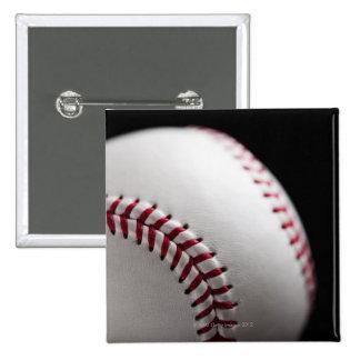 Baseball 2 15 cm square badge