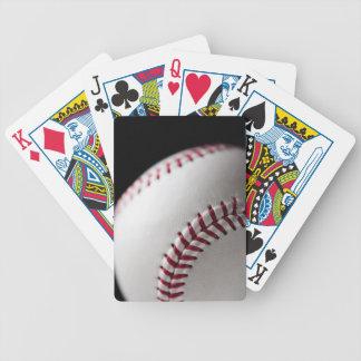 Baseball 2 bicycle playing cards