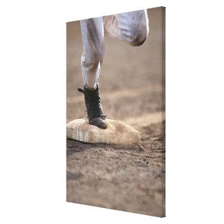 Baseball 3 canvas print