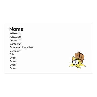 Baseball 5 business card