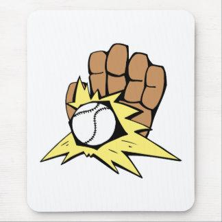Baseball 5 mouse pad