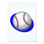 "baseball 5"" x 7"" invitation card"