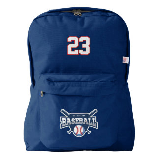 Baseball. Add Player Name & Number. Your Official Backpack