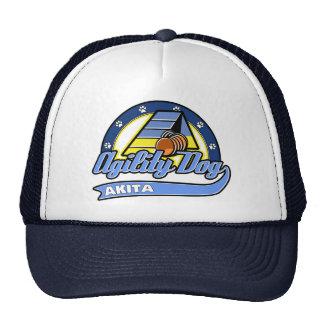 Baseball Akita Agility Cap