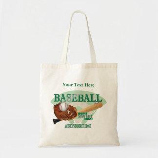 Baseball – Americas Favorite Sport Design Budget Tote Bag