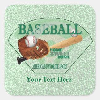 Baseball – Americas Favorite Sport Design Stickers