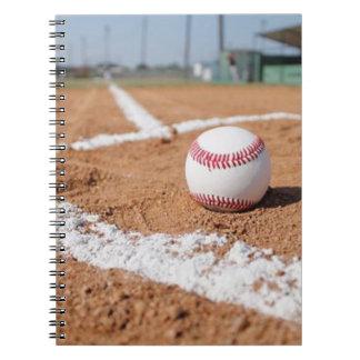 Baseball and Baseball Field Notebooks