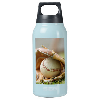 Baseball and Glove Insulated Water Bottle