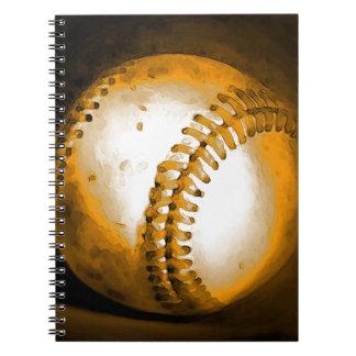Baseball Artwork Notebook