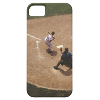 Baseball at Home Plate iPhone 5 Cover