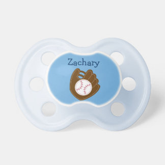 Baseball Baby Boy Personalized Pacifier