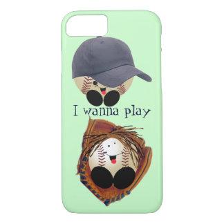 Baseball baby iPhone 7 case