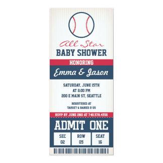 Baseball Baby Shower Invitation