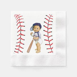 Baseball Baby Shower Paper Napkins