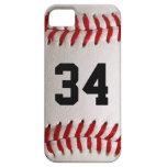 Baseball Ball and Number