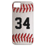 Baseball Ball and Number Case For The iPhone 5