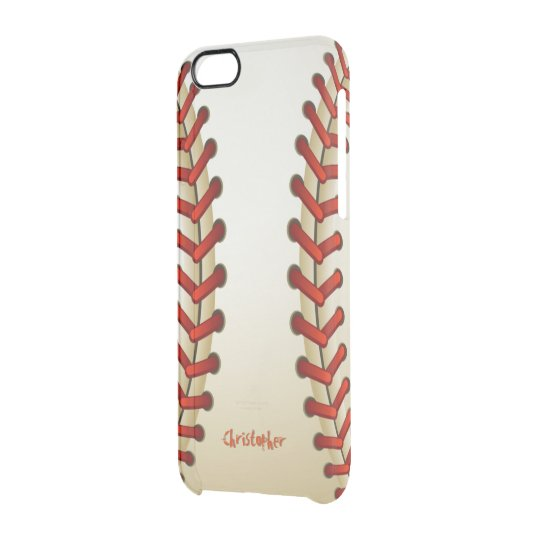 Baseball Ball Clear iPhone 6/6S Case