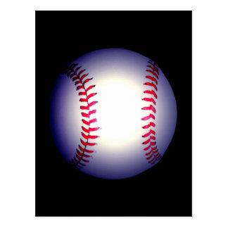 Baseball Ball Post Card