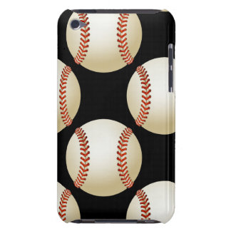 baseball balls pattern Case-Mate iPod touch case