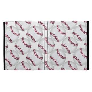 Baseball Balls Pattern Sports iPad Cases