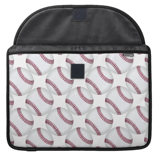 Baseball Balls Pattern Sports Sleeve For MacBooks