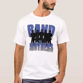 Baseball Band of Brothers (Blue/Silver) T-Shirt