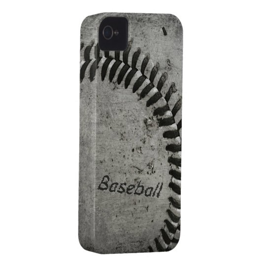 Baseball barely there case for iphone