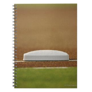 Baseball base notebook