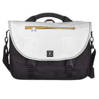 Baseball Bat And Ball Laptop Commuter Bag