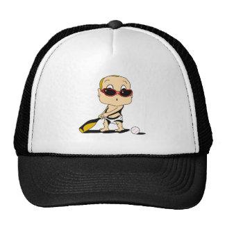baseball bat baby mesh hats