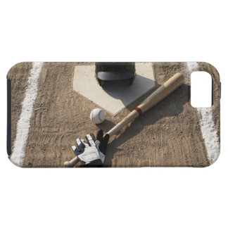 Baseball, bat, batting gloves and baseball iPhone 5 case